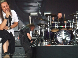 Performing at Ozzfest 2006