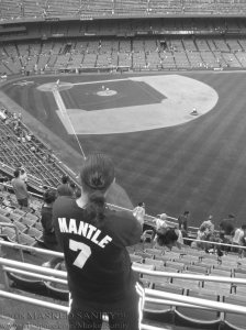 My last time at the old Yankee Stadium.